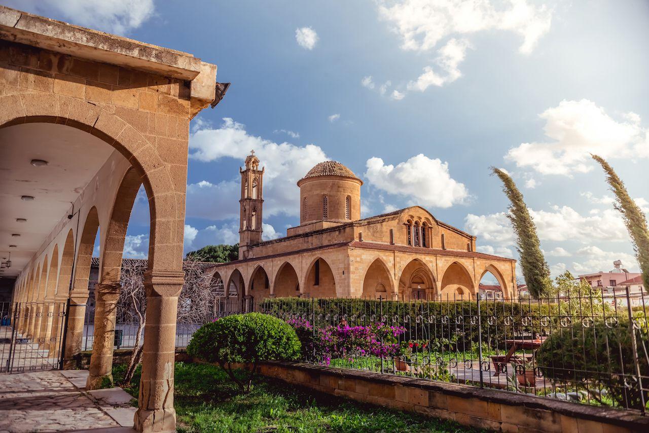 Agios Mamas, Greek Orthodox Monastery in Morphou, Nicosia, Cyprus