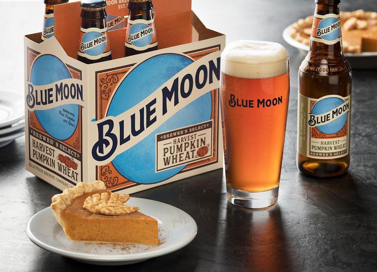 Blue Moon's Harvest Pumpkin Wheat
