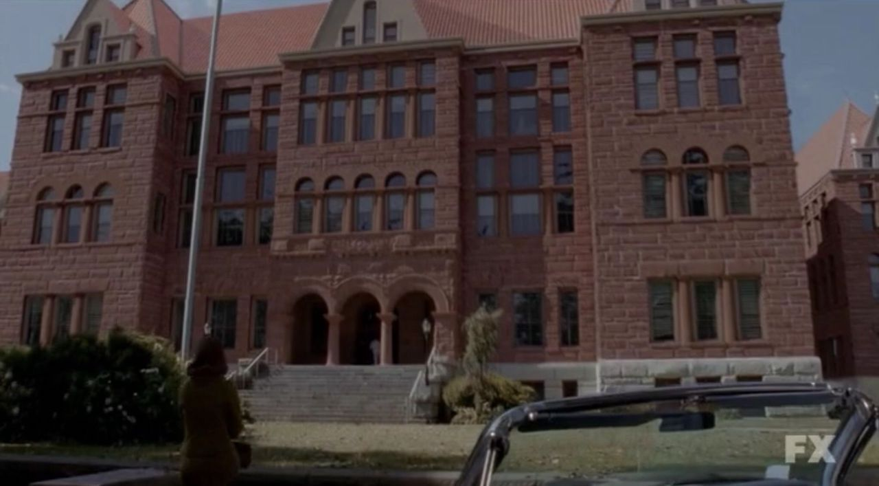 Briarcliff Asylum from American Horror Story