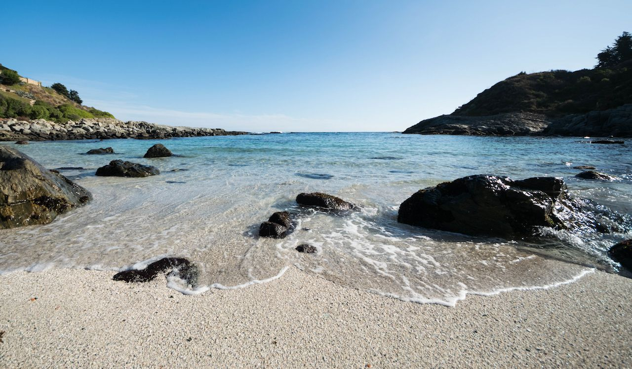 Cachagua beach Chile