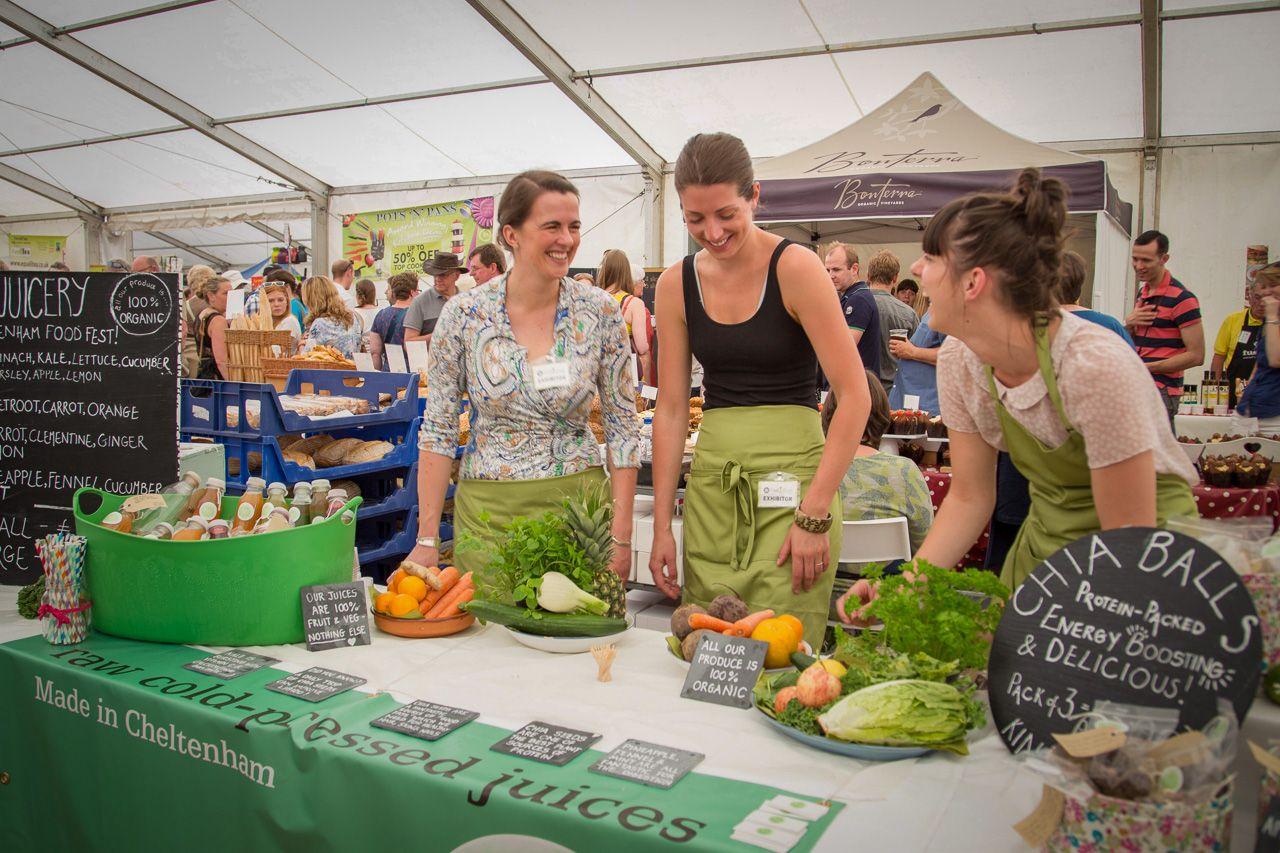 Cheltenham food fest Visit Britain