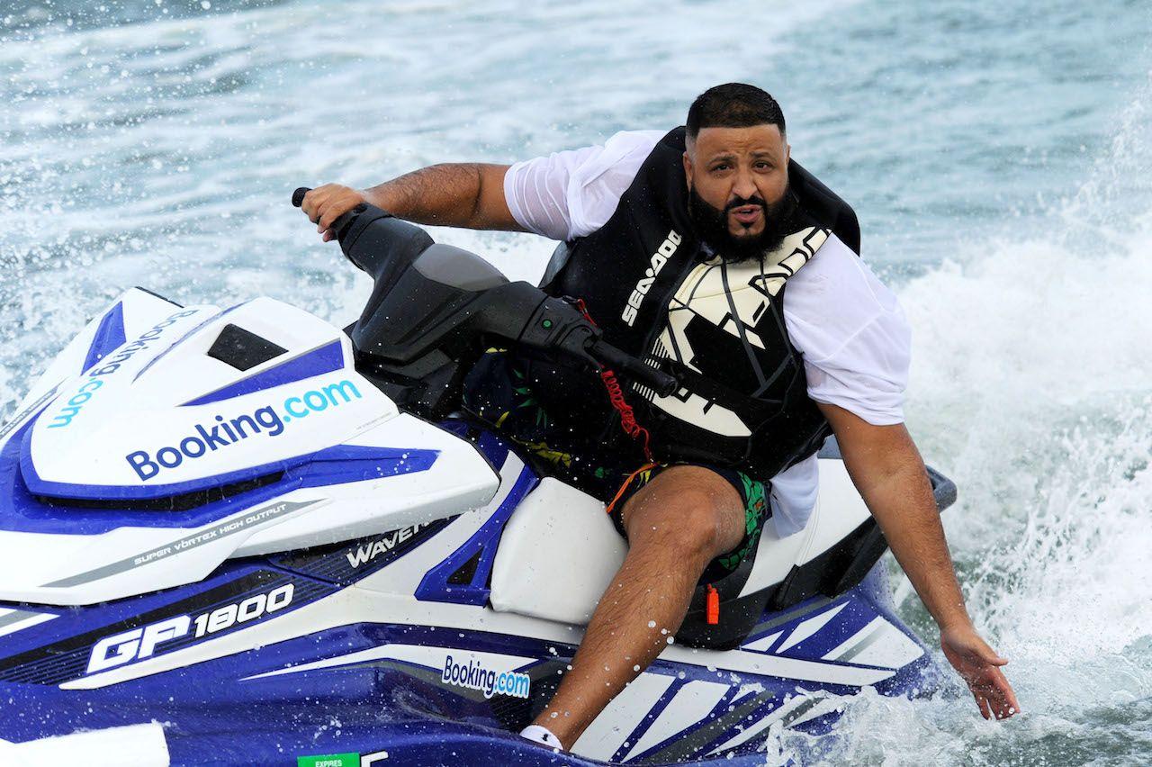 DJ Khaled jet ski tour of Miami