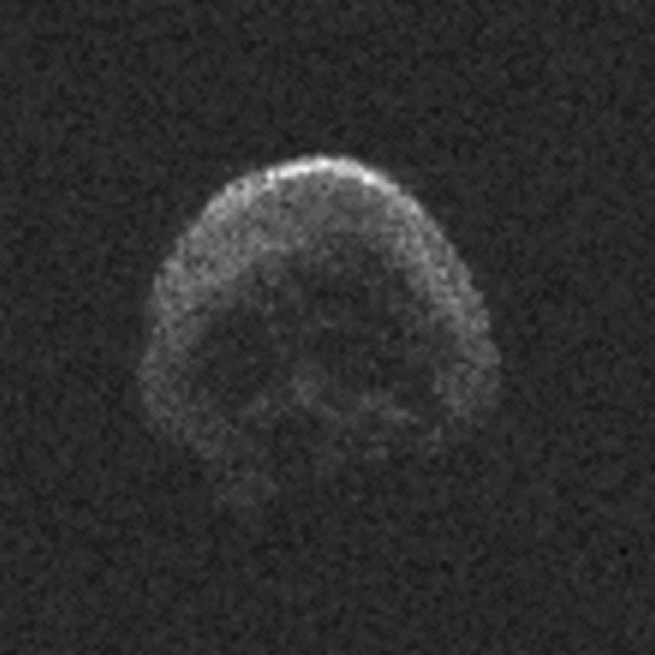 Skull asteroid to fly past Earth