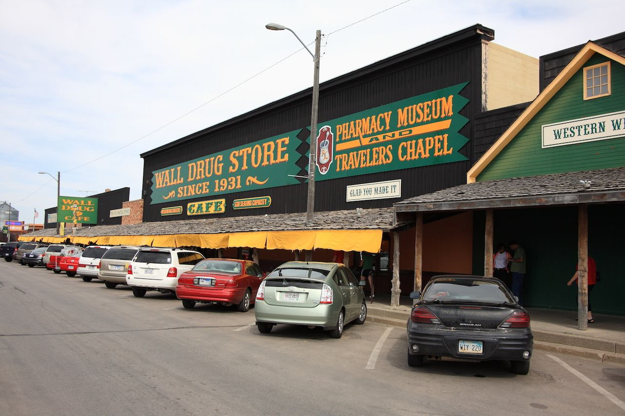 Famous Wall Drug Store in South Dakota