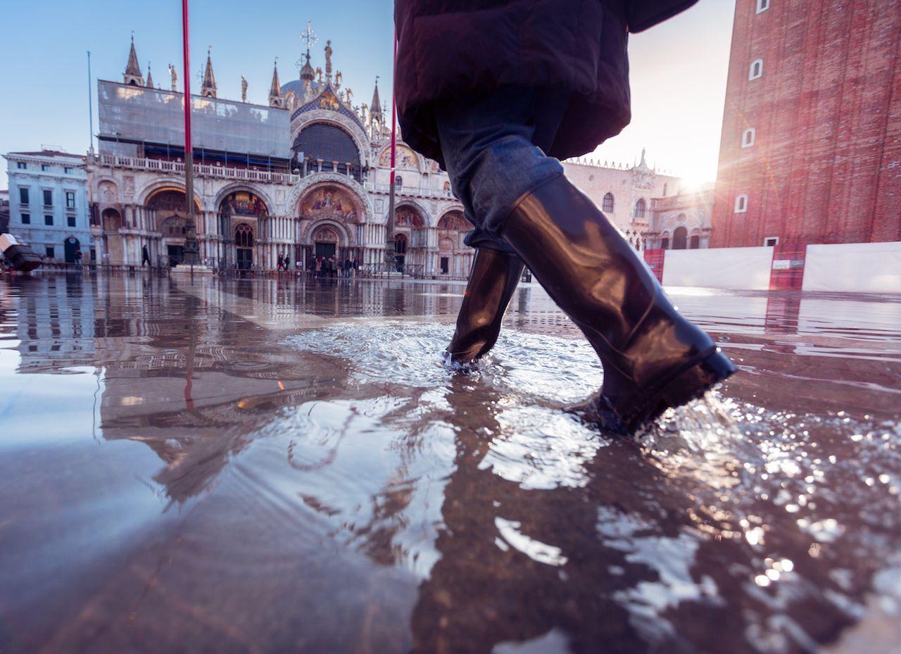 Venice underwater in worst flood