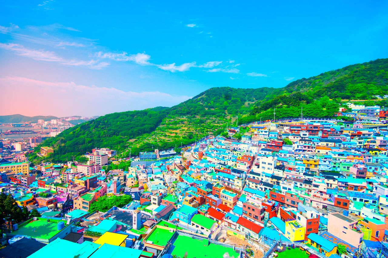 Gamcheon Culture Village in Busan in South Korea