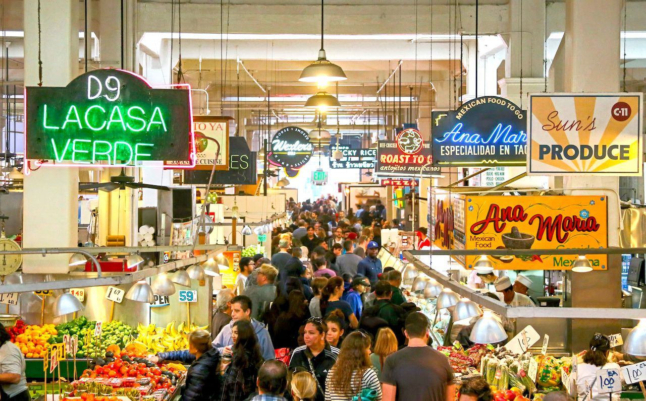 The best food halls in the US