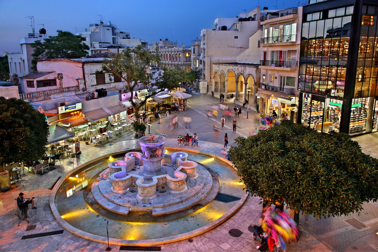 Heraklion in Crete, Greece