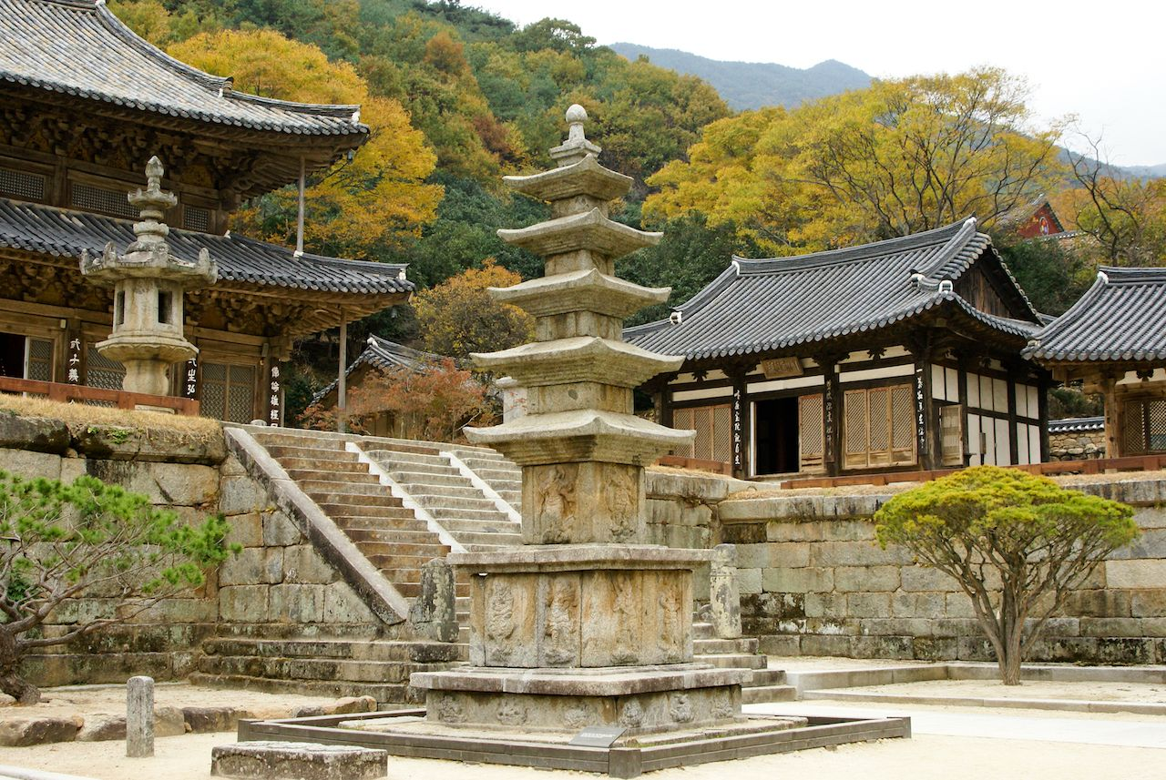 Hwaeomsa Buddhist Temple, Jirisan National Park, South Korea