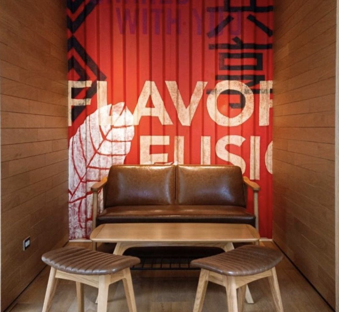 Inside Taiwain's shipping container Starbucks