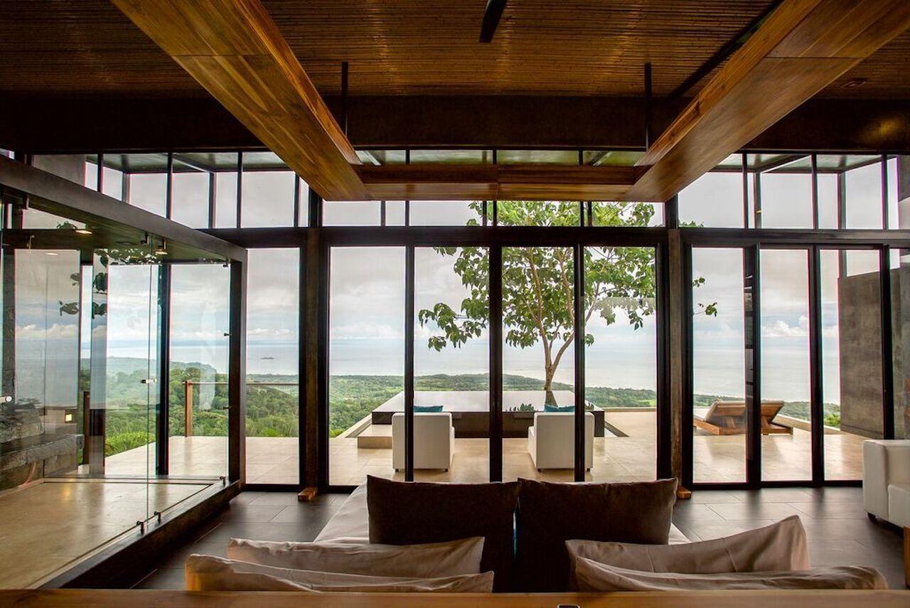 Kura hotel Costa Rica balcony view