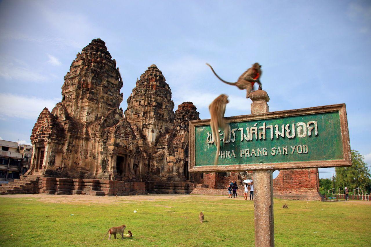 Lopburi in Thailand