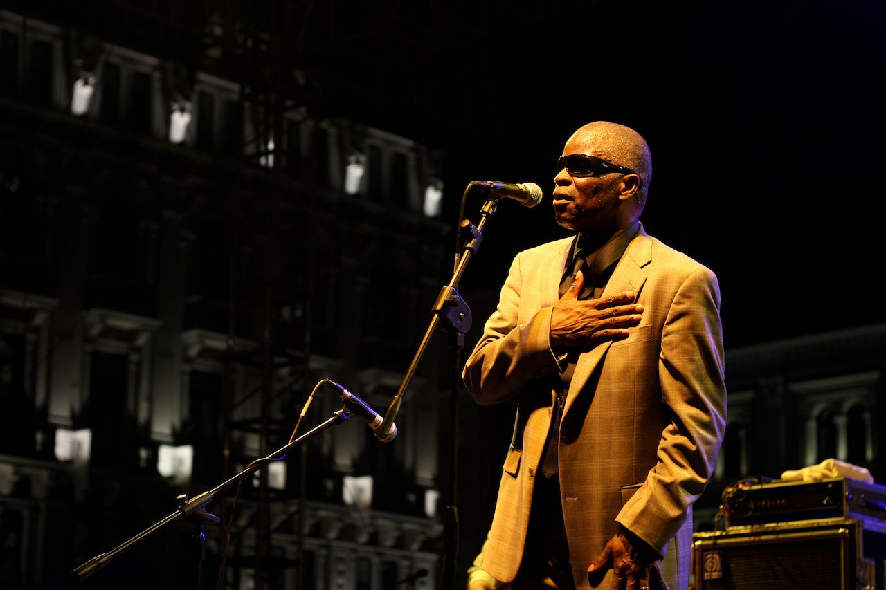 Maceo Parker at Trieste Loves Jazz 2009 at Piazza Unita in Italia