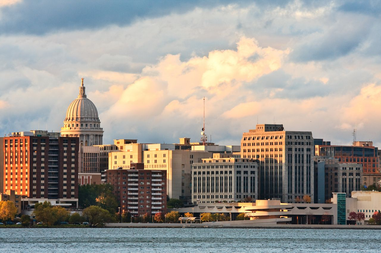 Madison, Wisconsin, cityscape