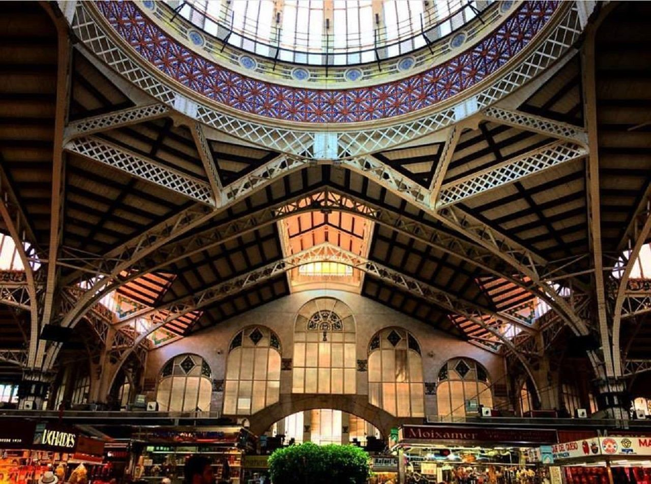 Mercado Central in Valencia, Spain