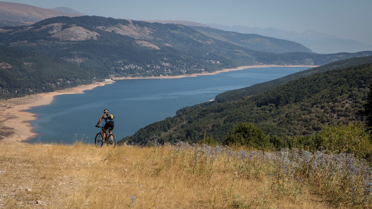 Mountain biking in Macedonia