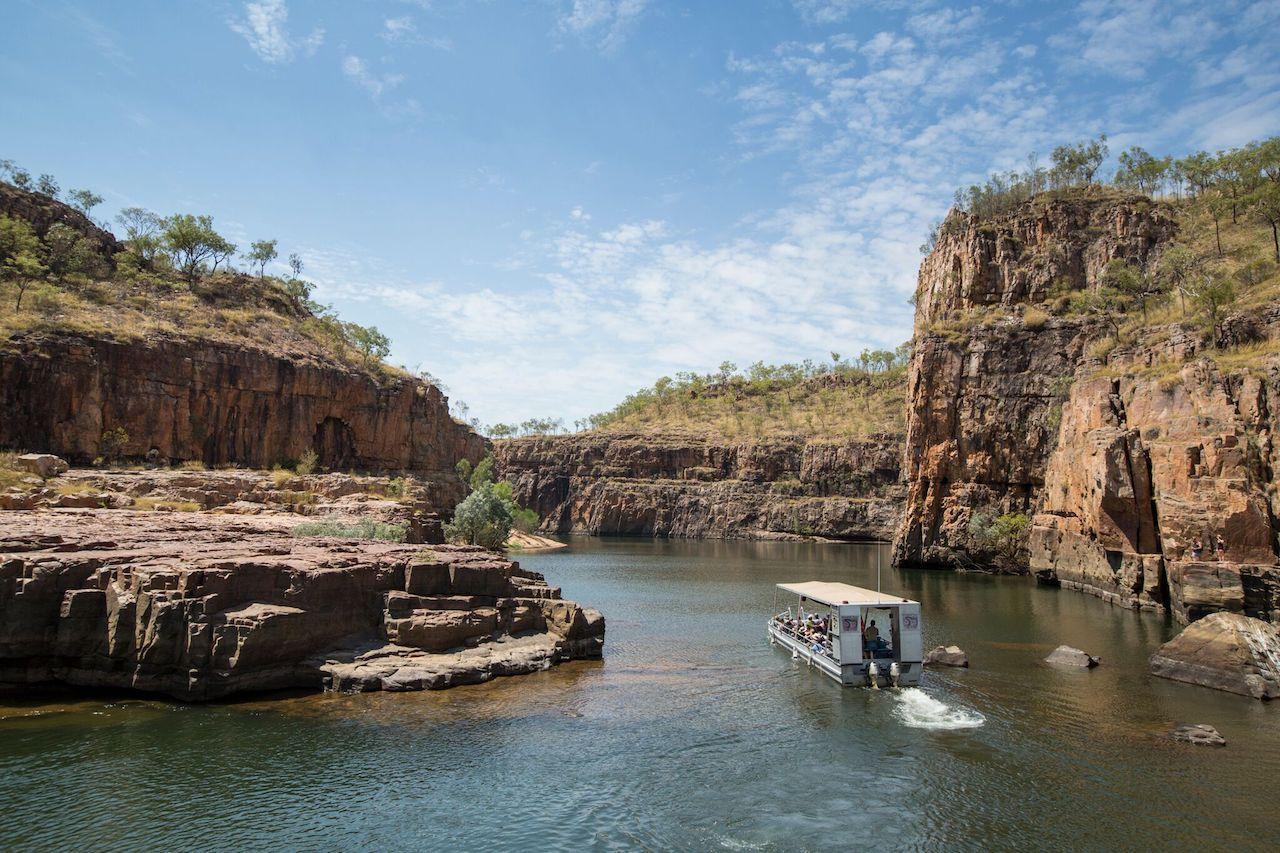 Nitmiluk Gorge in Australia