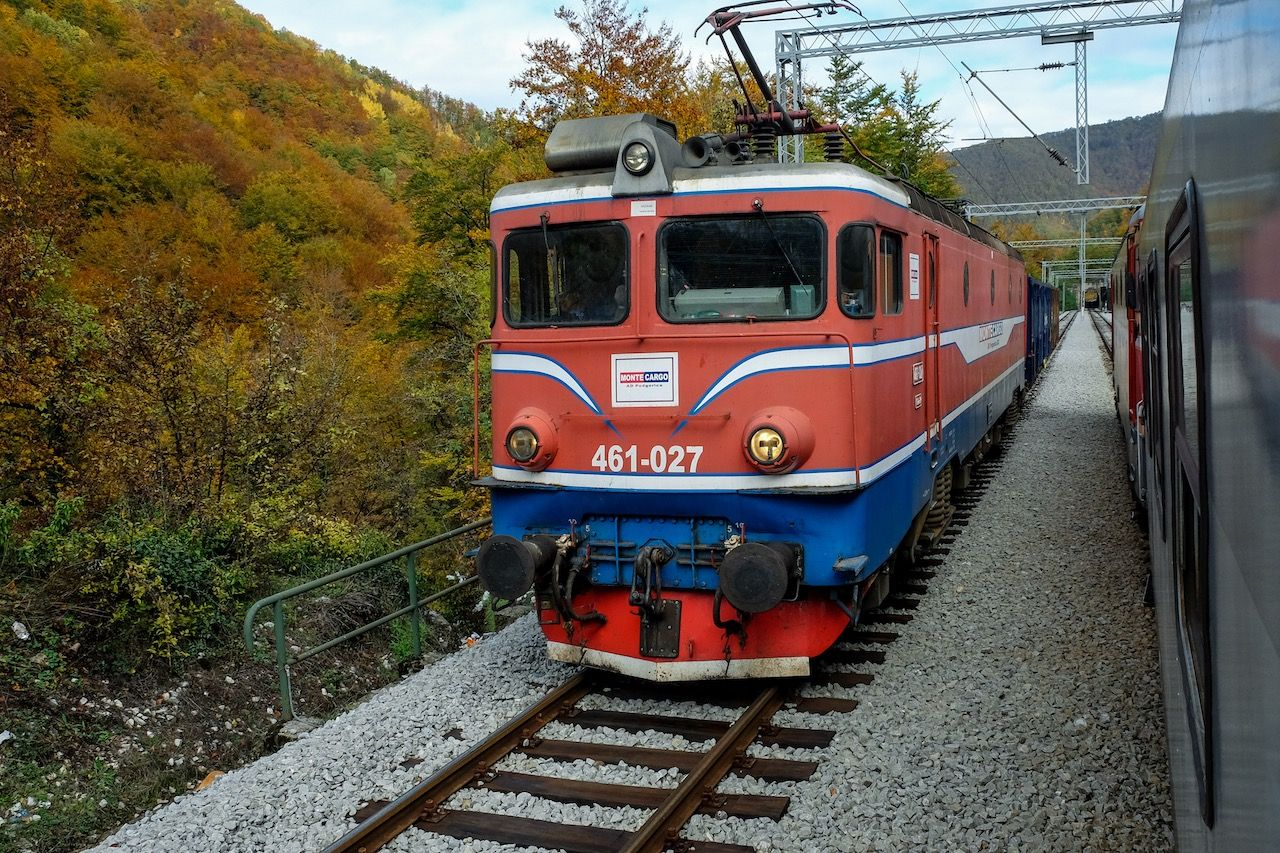 Montenegro Express fall foliage sceneryMontenegro Express fall foliage scenery