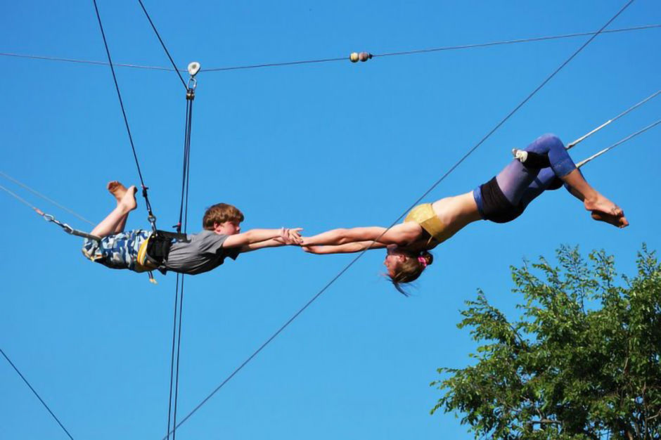 Regents Park flying trapeze