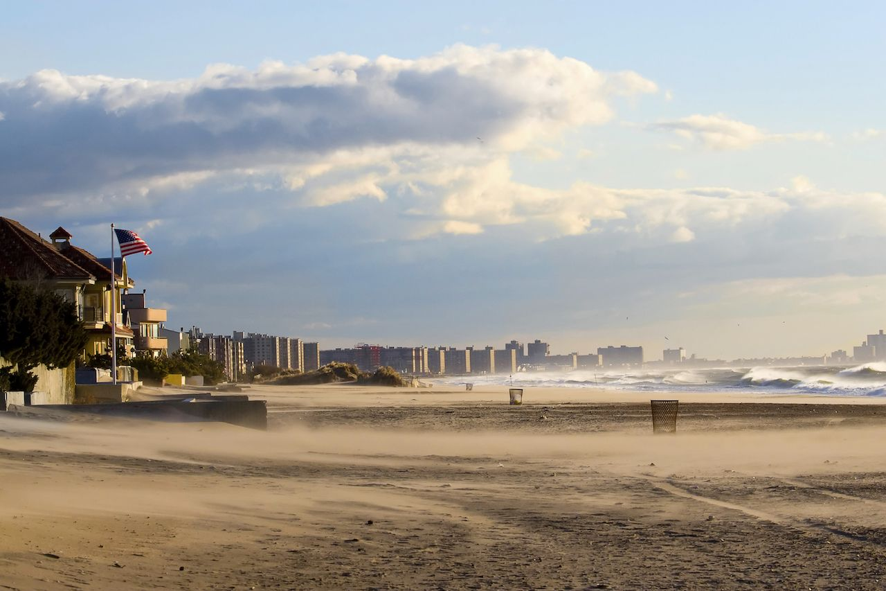 Rockaway Beach in Queens, New York City