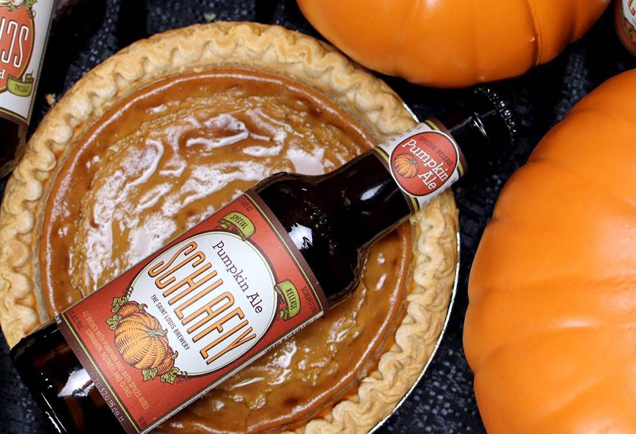 Pumpkin beers made with real pumpkin