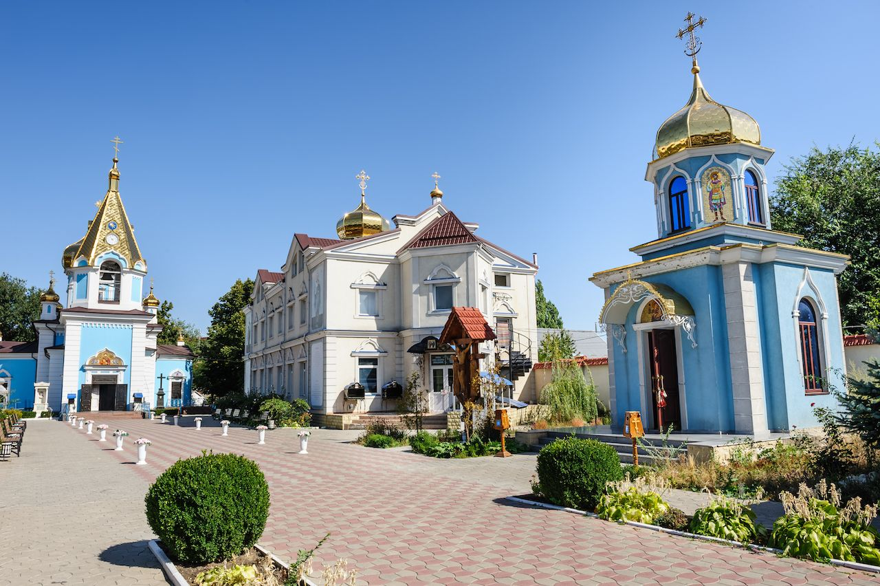 Sf Teodor Tiron Monastery, Chisinau, Republic of Moldova