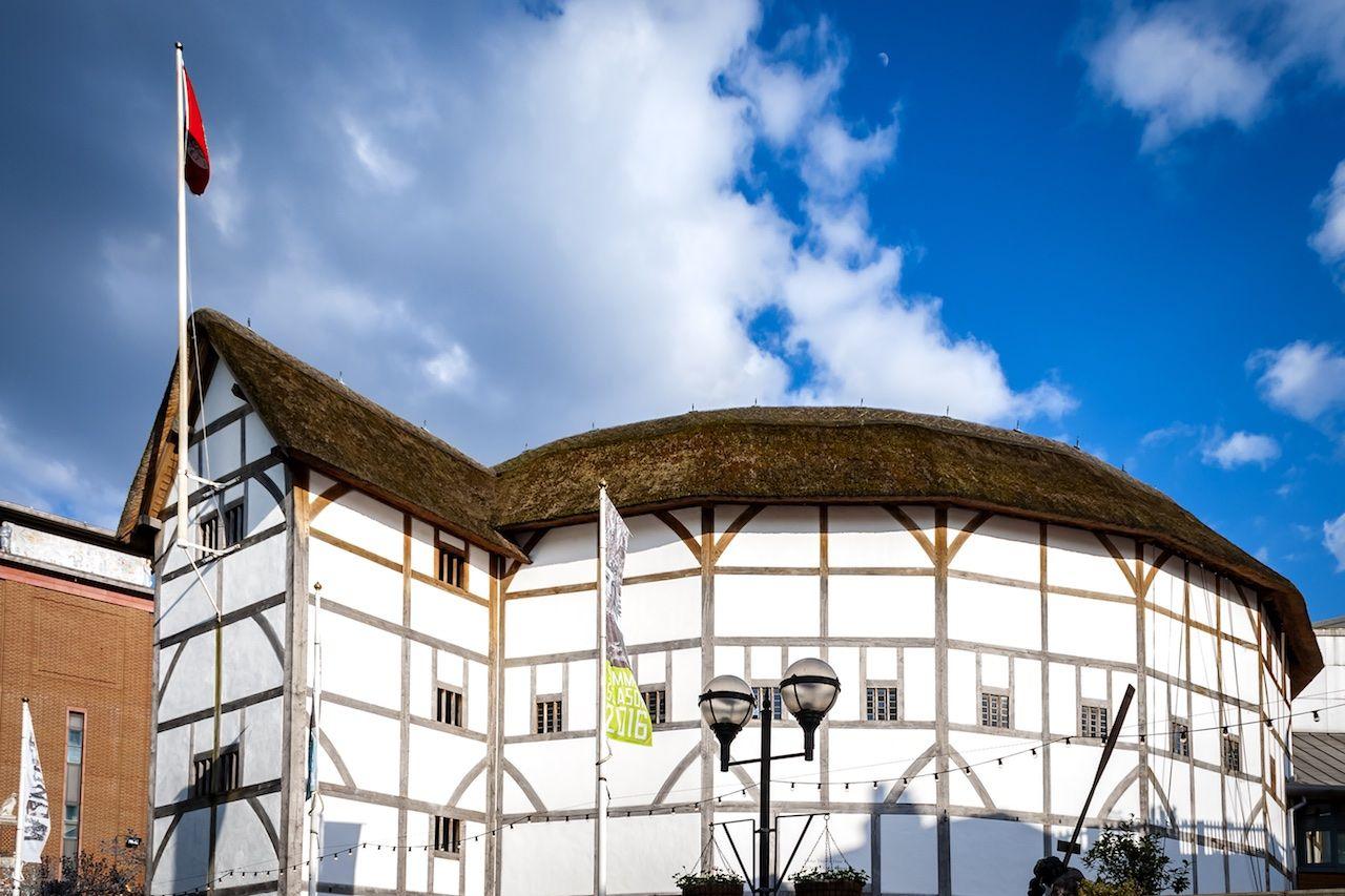 Shakespeare Globe Theatre Visit Britain spring