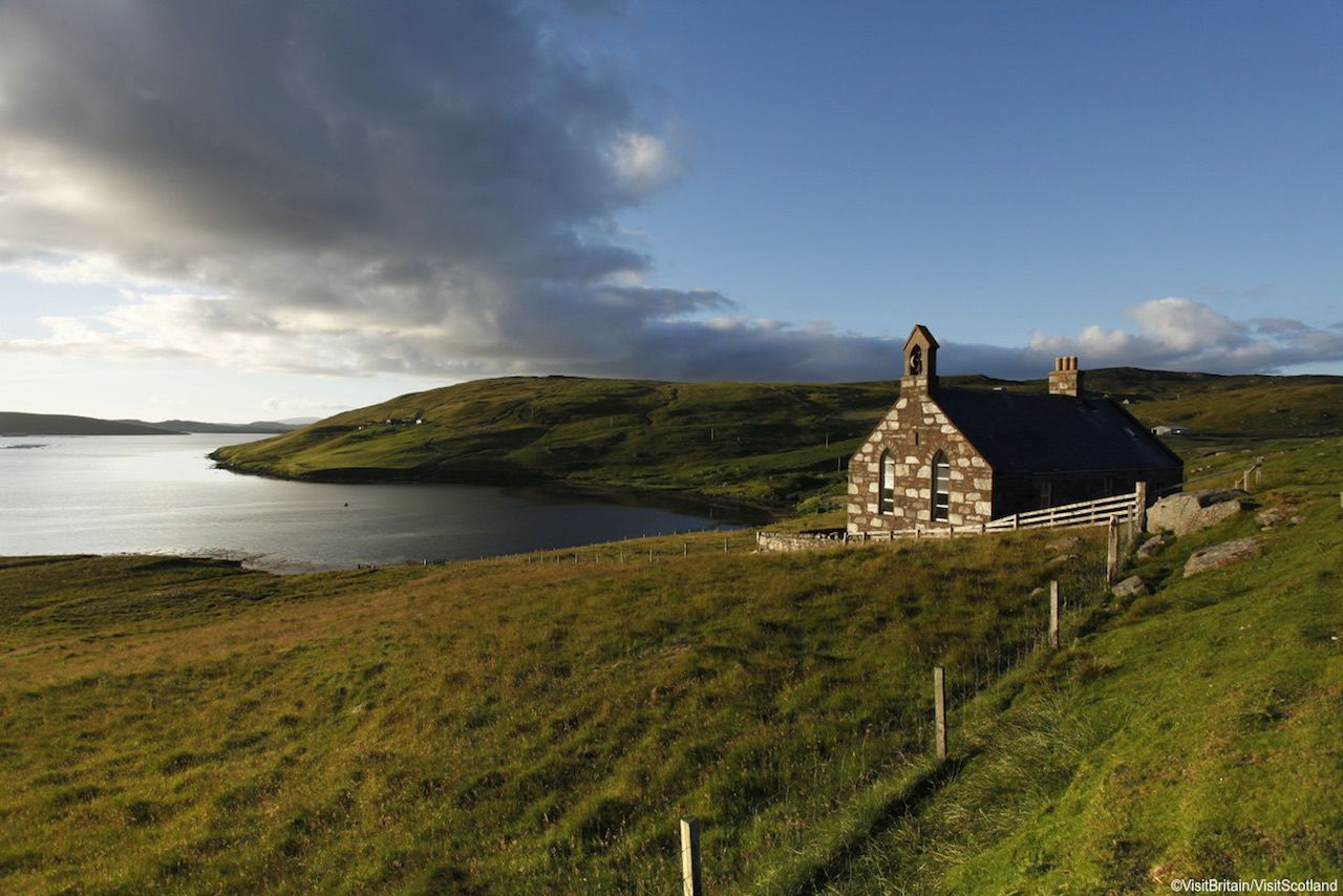 Shetland Scotland VisitBritain spring