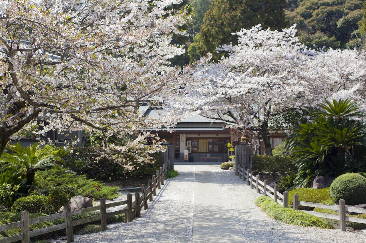 The second temple, Gokurakuji, on Japan's Shikoku pilgrimage