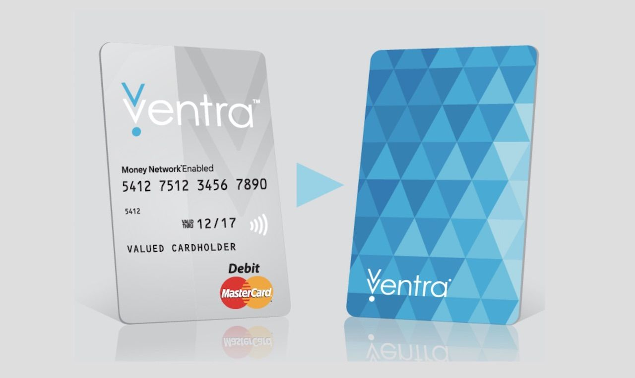 Ventra transit card used in Chicago