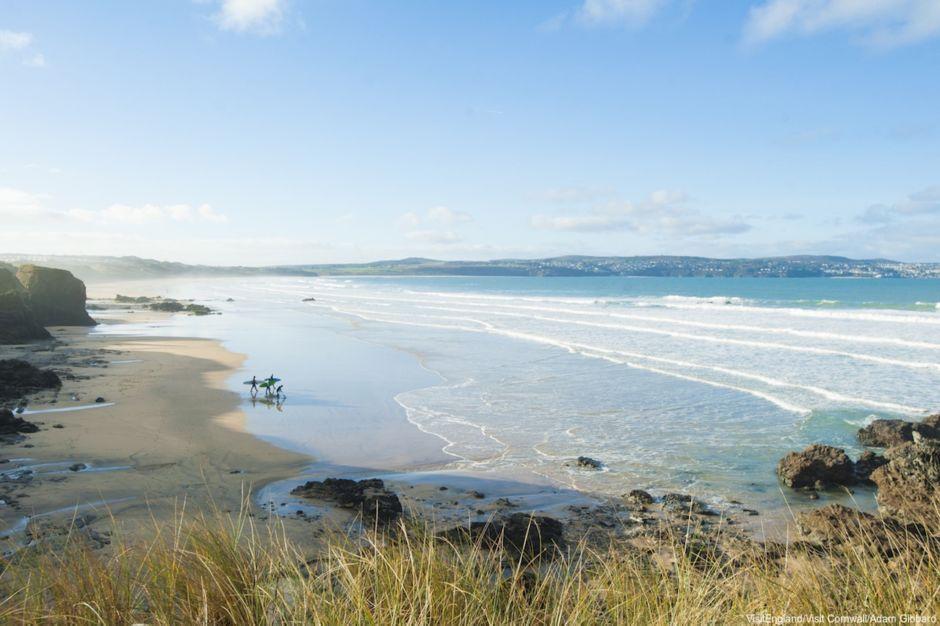 Visit Britainb Cornwall surf