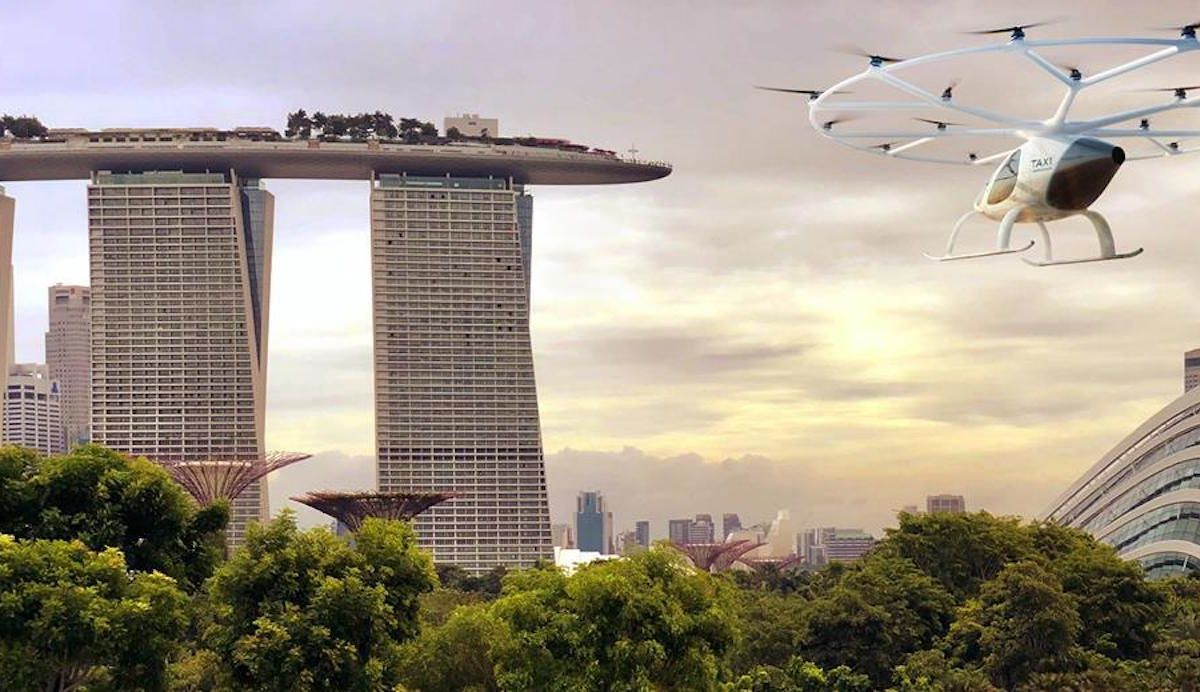 First drone-like air taxis to be tested in Singapore