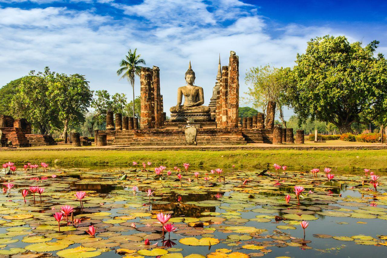 Wat Mahathat in Thailand
