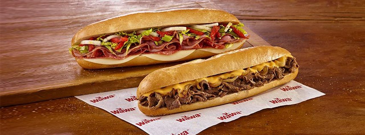 Sandwiches from Wawa