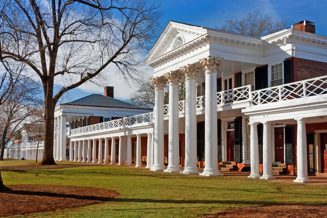Academic Village at the University of Virginia, Charlottesville