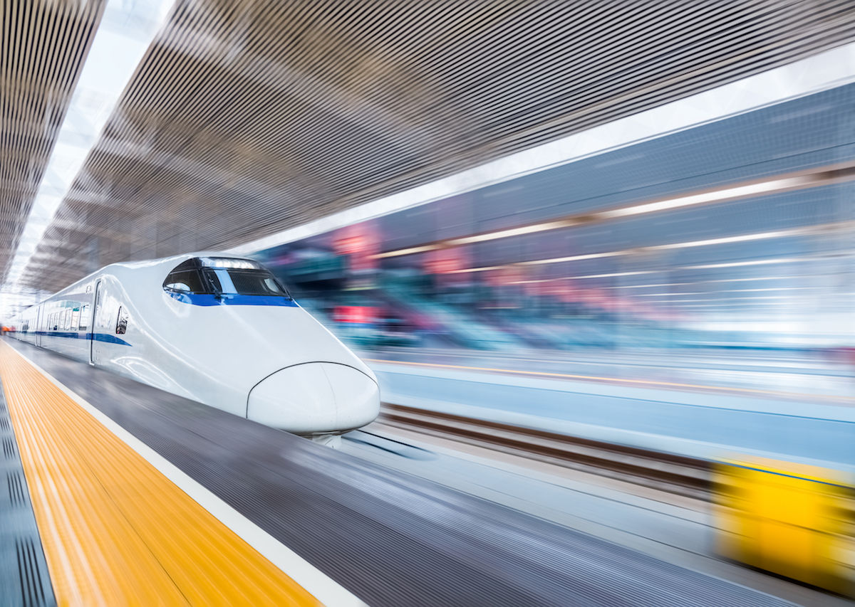 Ultra-high-speed bullet trains could soon get you from
