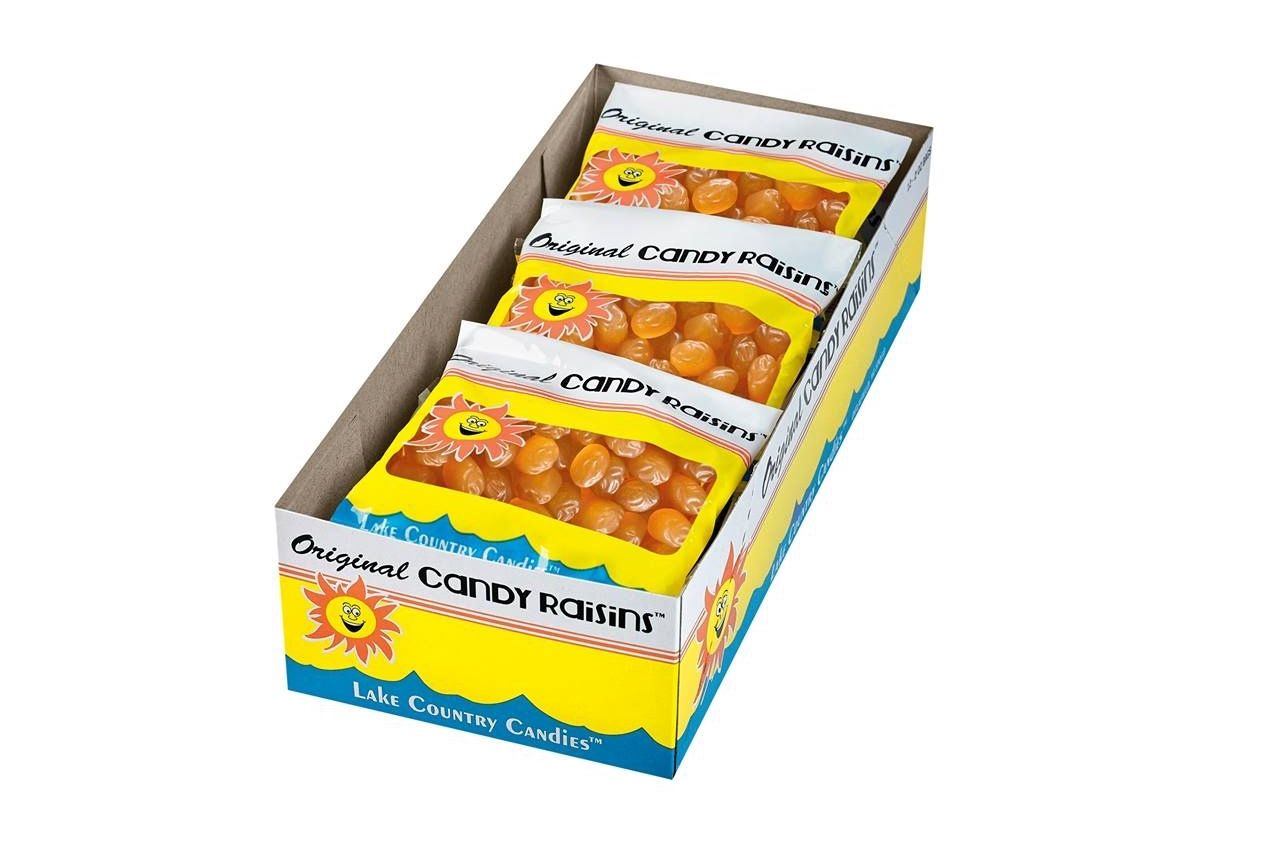 lake country candies raisins best regional candy