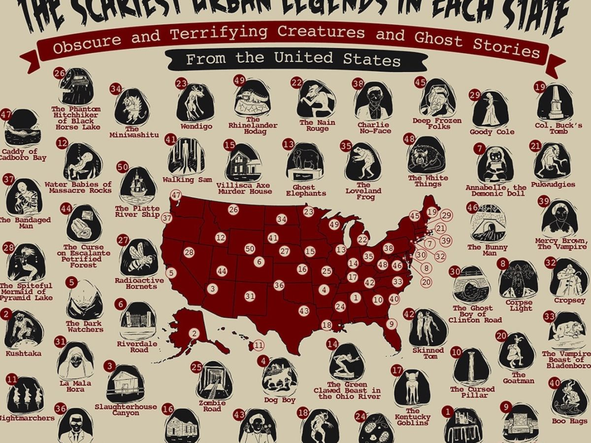 Scariest urban legends in the United States