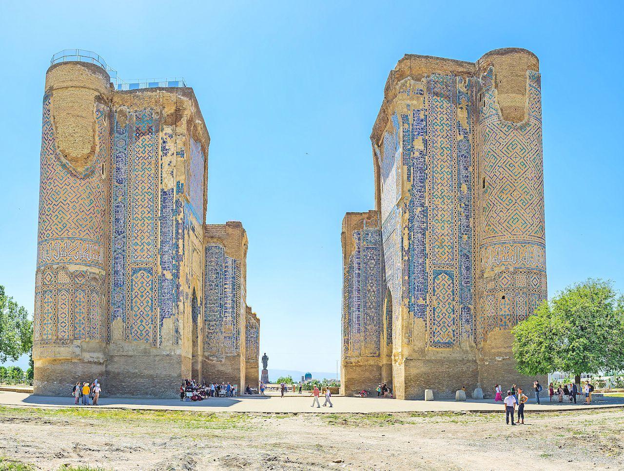 Ak-Saray Palace in uzbekistan