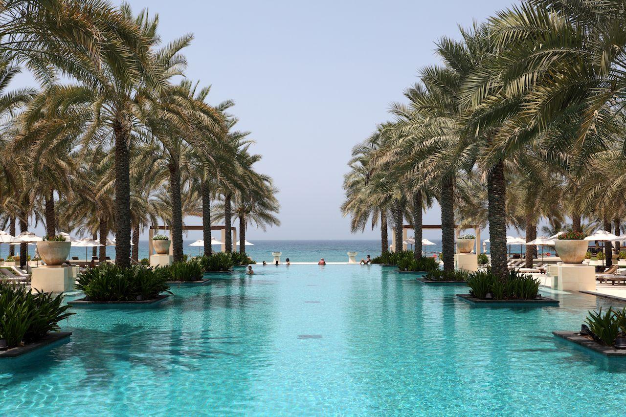 Al Bustan hotel Muscat Oman