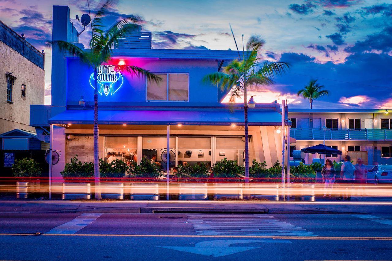 Blue Collar restaurant in Miami, Florida