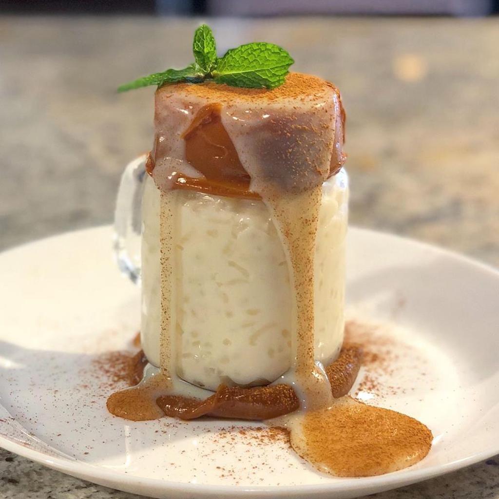 Dessert from Bocas Grill in Miami