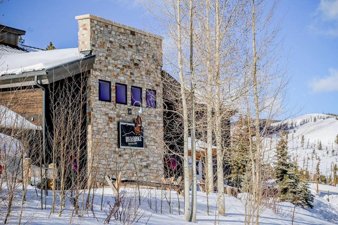 Breckenridge Distillery in the Colorado mountains
