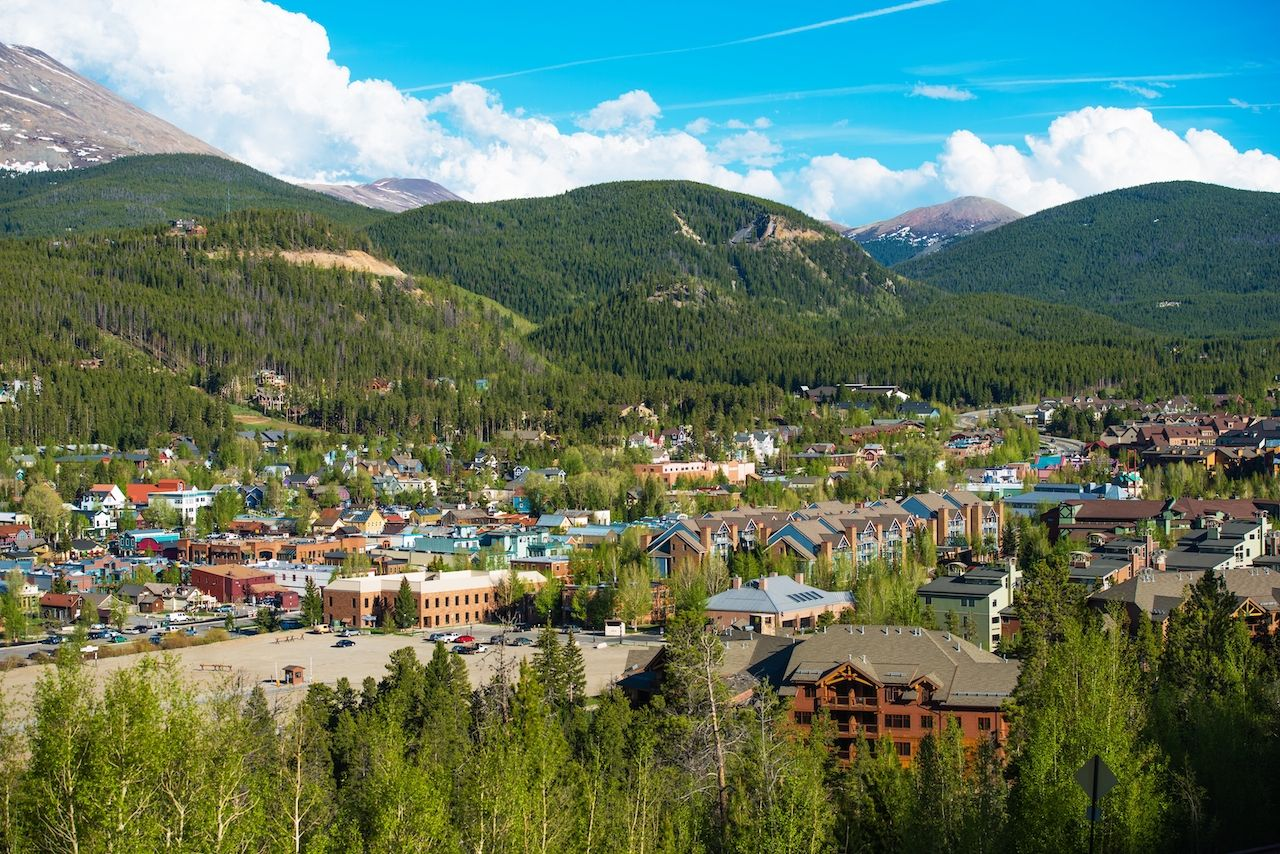 Breckenridge in Summit County, Colorado