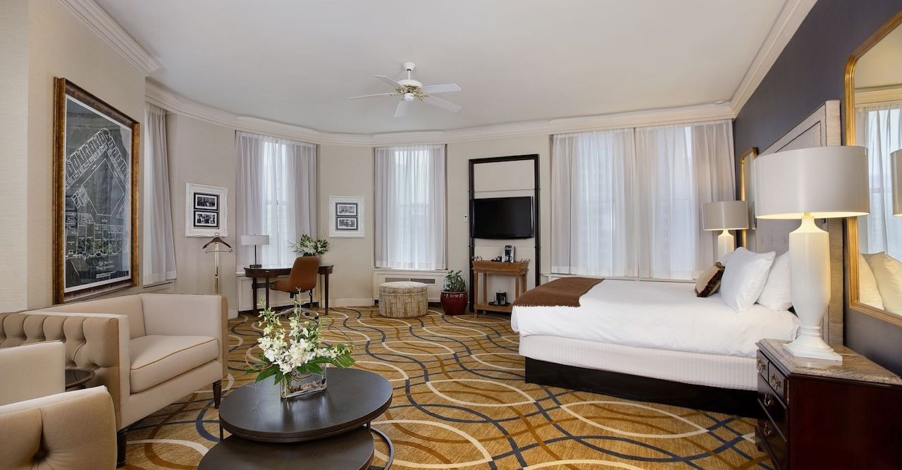 Brown Palace hotel suite in Denver