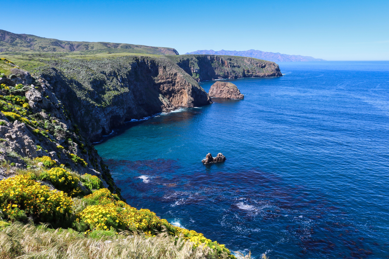 Coast of Santa Cruz Island