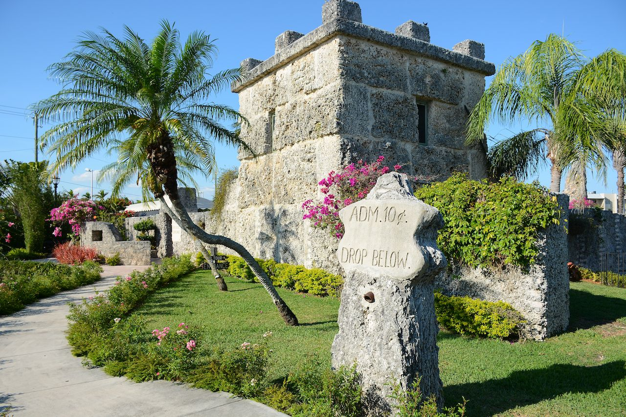 Coral Castle Museum in Miami, Florida