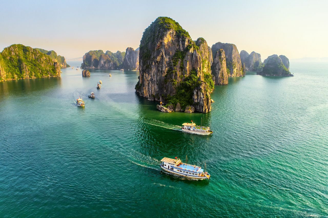 Boats in Southeast Asia