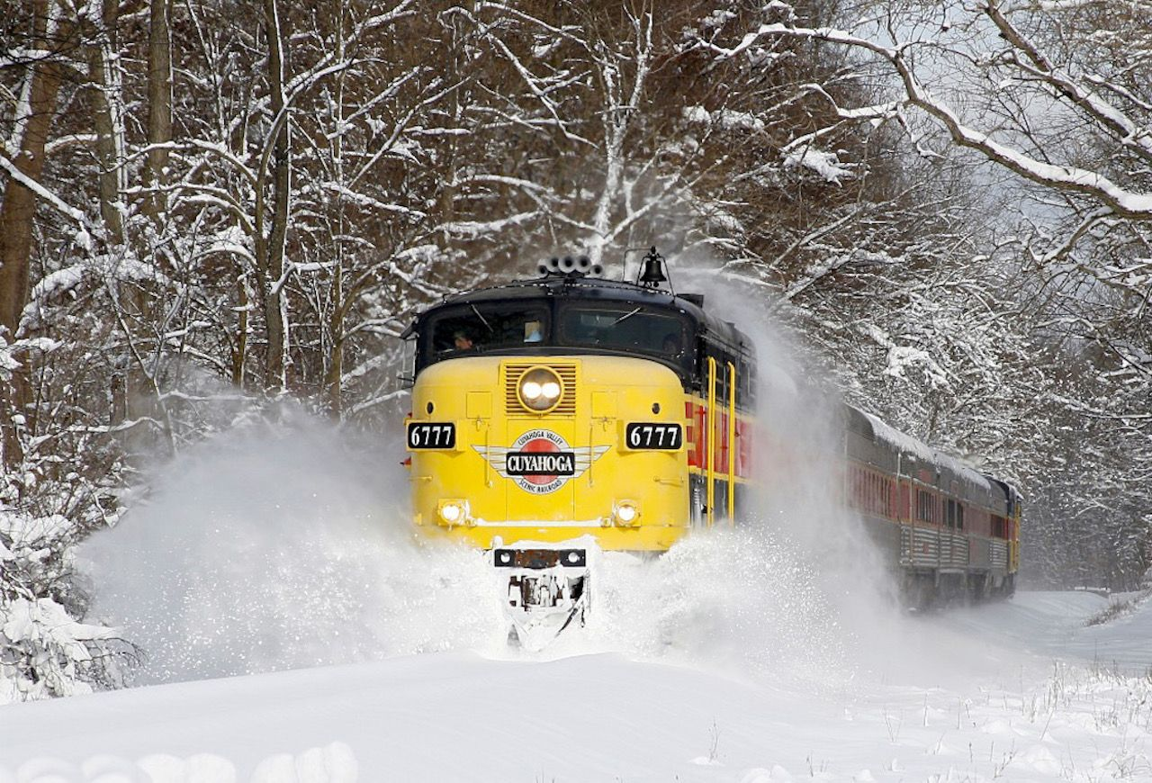 Cuyahoga Valley Scenic Railroad in Winter