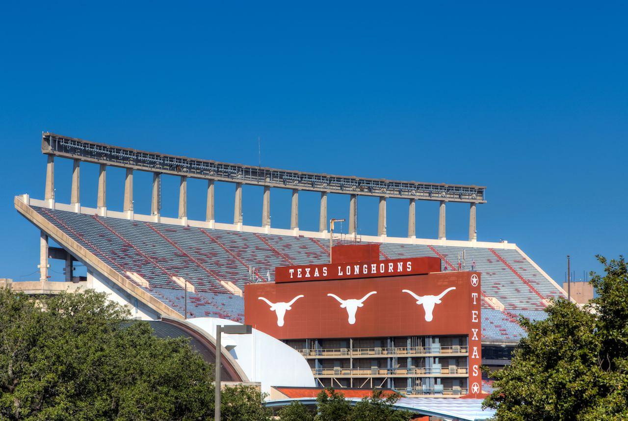 Darrell K Royal Texas Memorial Stadium at campus of University of Texas